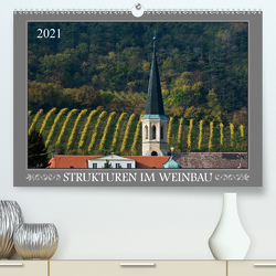 Strukturen im Weinbau (Premium, hochwertiger DIN A2 Wandkalender 2021, Kunstdruck in Hochglanz) von Braun,  Werner