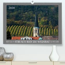 Strukturen im Weinbau (Premium, hochwertiger DIN A2 Wandkalender 2020, Kunstdruck in Hochglanz) von Braun,  Werner