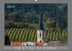 Strukturen im Weinbau (Wandkalender 2019 DIN A2 quer) von Braun,  Werner