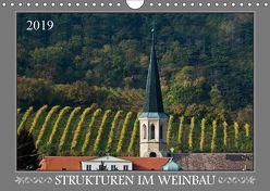 Strukturen im Weinbau (Wandkalender 2019 DIN A4 quer) von Braun,  Werner