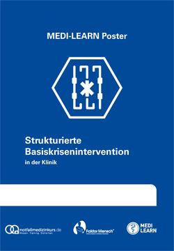 Strukturierte Basiskrisenintervention in der Klinik von Borgmann,  Thomas, MEDI-LEARN Verlag GbR, Plappert,  Thomas, Schmidt,  Kristina