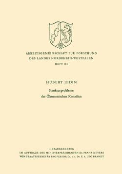 Strukturprobleme der Ökumenischen Konzilien von Jedin,  Hubert