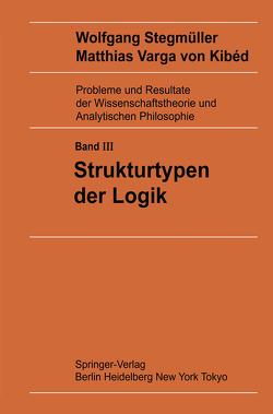 Strukturtypen der Logik von Varga von Kibéd,  Matthias