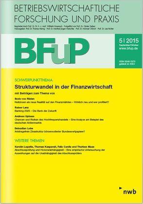 Strukturwandel in der Finanzwirtschaft