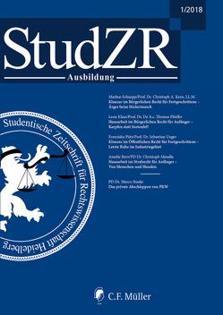 Studentische Zeitschrift für Rechtswissenschaft Ausbildung