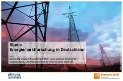 Studie Energiemarktforschung in Deutschland von planung & analyse, research tools