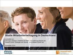 Studie Mitarbeiterbefragung in Deutschland von planung & analyse, research tools