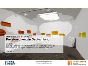 Studie Preisforschung in Deutschland