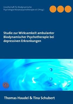 Studie zur Wirksamkeit ambulanter Biodynamischer Psychotherapie bei depressiven Erkrankungen von Haudel,  Thomas, Psychologie/Körperpsychotherapie e.V. (Hrsg.),  Gesellschaft für Biodynamische, Schubert,  Tina