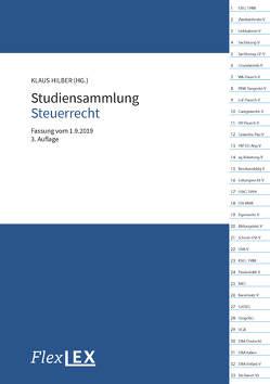 Studiensammlung Steuerrecht von Hilber,  Klaus