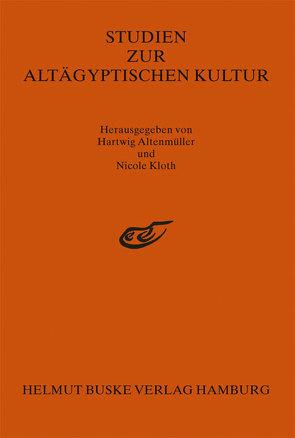 Studien zur Altägyptischen Kultur, Band 21 von Altenmüller,  Hartwig