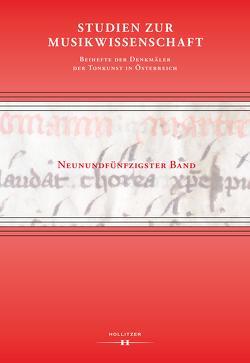 Studien zur Musikwissenschaft – Beihefte der Denkmäler der Tonkunst in Österreich. Band 59 von Eybl,  Martin, Hilscher,  Elisabeth