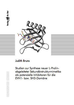 Studien zur Synthese neuer L-Prolin-abgeleiteter Sekundärstrukturmimetika als potenzielle Inhibitoren für die EVH1- bzw. SH3-Domäne von Bruns,  Judith