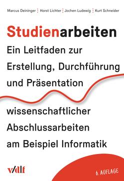 Studienarbeiten von Deininger,  Marcus, Lichter,  Horst, Ludewig,  Jochen, Schneider,  Kurt