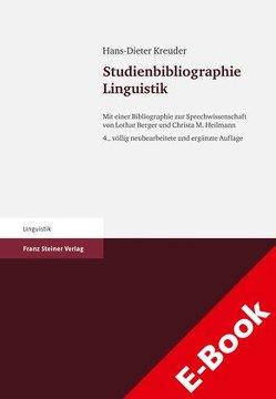 Studienbibliographie Linguistik von Berger,  Lothar, Heilmann,  Christa M., Kreuder,  Hans-Dieter