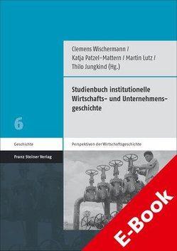 Studienbuch institutionelle Wirtschafts- und Unternehmensgeschichte von Jungkind,  Thilo, Lutz,  Martin, Patzel-Mattern,  Katja, Wischermann,  Clemens