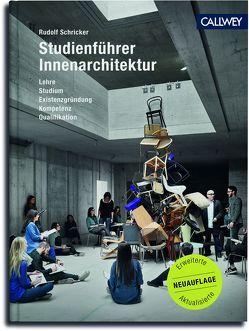 Studienführer Innenarchitektur von Schricker,  Rudolf