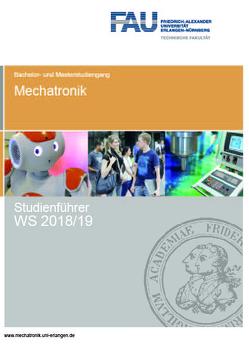 Studienführer Mechatronik WS 2018/19 von Kreis,  Oliver