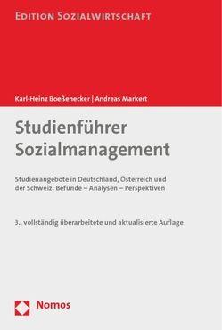 Studienführer Sozialmanagement von Boeßenecker,  Karl- Heinz, Markert,  Andreas