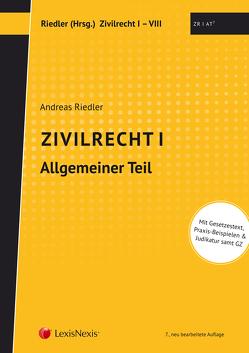 Studienkonzept Zivilrecht / Zivilrecht I – Allgemeiner Teil von Riedler,  Andreas