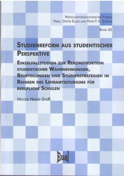 Studienreform aus studentischer Perspektive von Naeve-Stoß,  Nicole