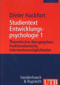 Studientext Entwicklungspsychologie von Dieter,  Hackfort