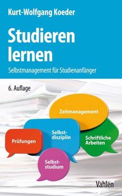 Studieren lernen von Koeder,  Kurt-Wolfgang
