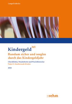 Studierende Kinder 2018 von Lange,  Klaus, Lüdecke,  Reinhard