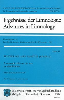 Studies on Lake Nantua (France) von Feuillade,  Jacques