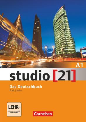 Studio [21] – Grundstufe / A1: Gesamtband – Das Deutschbuch von Funk,  Hermann, Kuhn,  Christina, Nielsen,  Laura, Rische,  Kerstin