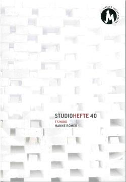 Studiohefte 40 von Assmann,  Peter, Römer,  Patricia Hanne, Sila,  Roland