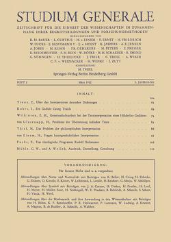 Studium Generale von von Glasenapp,  Helmuth