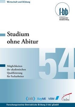 Studium ohne Abitur von Loebe,  Herbert, Severing,  Eckart