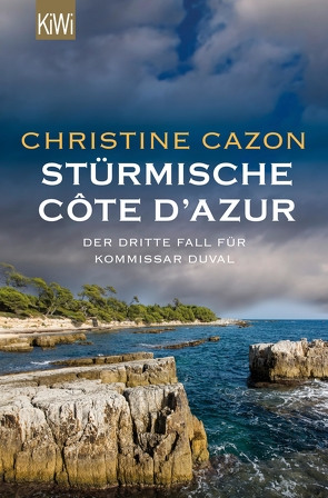 Stürmische Côte d´Azur von Cazon,  Christine