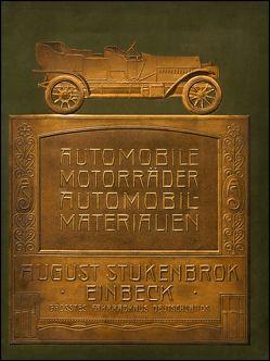 Stukenbrok – Automobile, Motorräder, Automobil-Materialien [um 1910]