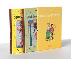 Stups und Steppke, Band 1 und 2 im Schuber von Hergé