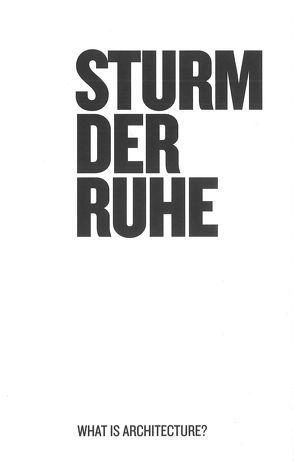 Sturm der Ruhe von Baird,  Georg, Kraus,  Rosalind, Rakatansky,  Mark