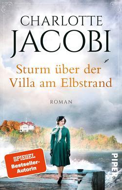 Sturm über der Villa am Elbstrand von Jacobi,  Charlotte