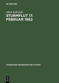 Sturmflut 17. Februar 1962 von Kolb,  Albert