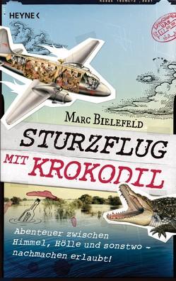 Sturzflug mit Krokodil von Bielefeld,  Marc
