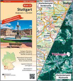 Stuttgart von BKG - Bundesamt für Kartographie und Geodäsie