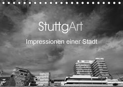StuttgArt – Impressionen einer Stadt (Tischkalender 2019 DIN A5 quer) von Ridder,  Andy