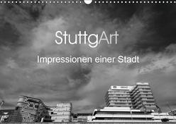 StuttgArt – Impressionen einer Stadt (Wandkalender 2019 DIN A3 quer) von Ridder,  Andy