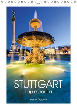 STUTTGART Impressionen (Wandkalender 2019 DIN A4 hoch) von Dieterich,  Werner