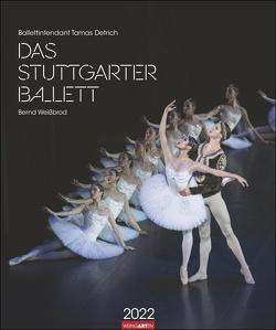 Stuttgarter Ballett Kalender 2022 von Anderson,  Reid, Weingarten, Weißbrod,  Bernd