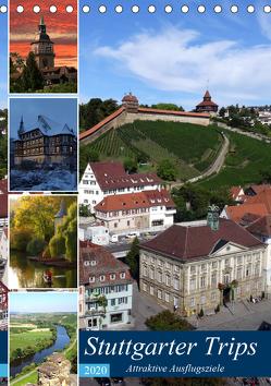 Stuttgarter Trips (Tischkalender 2020 DIN A5 hoch) von Huschka,  Klaus-Peter