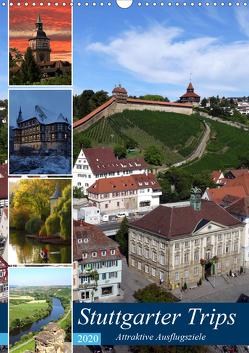 Stuttgarter Trips (Wandkalender 2020 DIN A3 hoch) von Huschka,  Klaus-Peter
