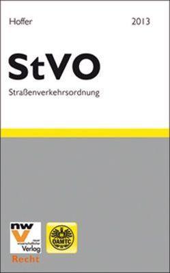 StVO – Straßenverkehrsordnung 1960 von Hoffer,  Martin