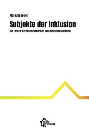 Subjekte der Inklusion von Boger,  Mai-Anh, Hamburger,  Franz