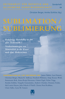Sublimation/Sublimierung von Berger,  Christian, Schlitte,  Annika